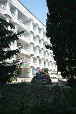 Нижний Кастрополь. Один из корпусов пансионата Кастрополь
