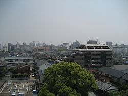 View of central Kasukabe