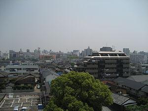 Kasukabe, Saitama - View of central Kasukabe