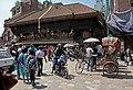 Kathmandu-Indra Chowk-Akash Bhairab-10-2013-gje.jpg