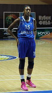 Kayla Alexander professional basketball player on the San Antonio Silver Stars