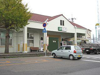 Kazusa-Ichinomiya Station Railway station in Ichinomiya, Chiba Prefecture, Japan
