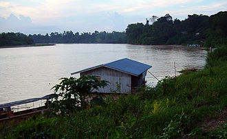 Kelantan River - Image: Kelantan River In Kuala Krai 29Sep 2005 Photo By Euchiasmus