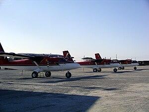 Resolute Bay Airport - Image: Kenn Borek Air