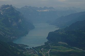 Kerenzerberg above Walensee