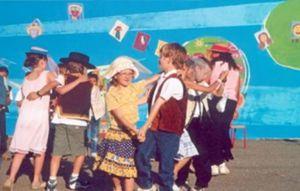 Kermesse d'une école primaire