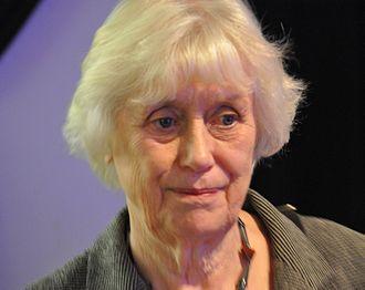1993 in Sweden - Kerstin Ekman, winner of the August Prize in 1993.