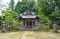 Keta-jinja (Toyooka) haiden.JPG