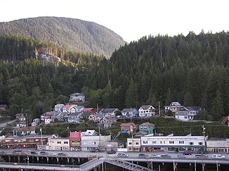 Ketchikan from Tongass Narrows, Alaska 7.jpg