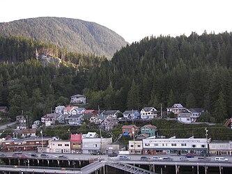 Ketchikan from Tongass Narrows, Alaska 7.jpg
