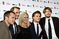 Kevin Bishop, Tim Draxl, Olivia Newton-John, Xavier Samuel and Kris Marshall.jpg