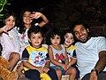 Khaled K. El-Hamedi's family before NATO strike.jpg