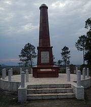 Khongjom war memorial