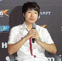 Kim Yoo-jin (E-sports player) in Dec 2014.jpg