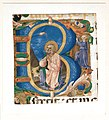 King David in Prayer in an Initial B MET 39N 411R4m.jpg