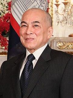 Norodom Sihamoni King of Cambodia
