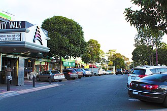 Glen Waverley, Victoria - Kingsway is a major dining and entertainment area with a strong Asian influence and demography.