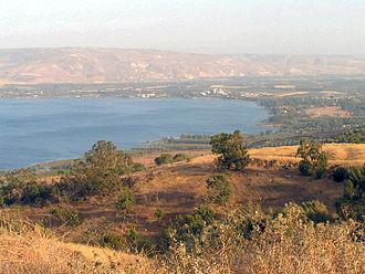 Tarichaea - Image: Kinneret Genezareth Israel datafox