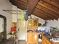 Kitchen in hut Rifugio Forcola 1838 m.a.s.l. Valchiavenna - (Sondrio) Lombardy - Italy. 12-10-2019.jpg
