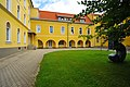 Klagenfurt Harbach Kloster Diakonie Innenhof 0206209 37.jpg
