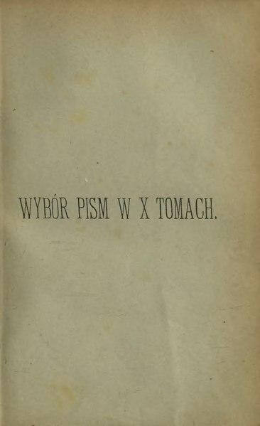 File:Klemens Junosza-Wybór pism Tom II.djvu