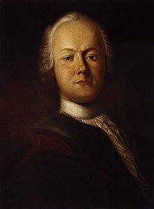 Porträt von Johann Caspar Füssli, 1750 (Klopstockhaus, Quedlinburg) (Quelle: Wikimedia)