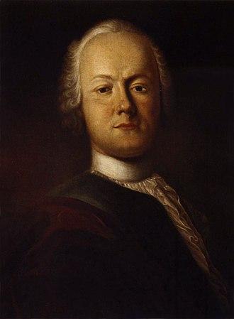 Friedrich Gottlieb Klopstock - Klopstock by Johann Caspar Füssli (1750)