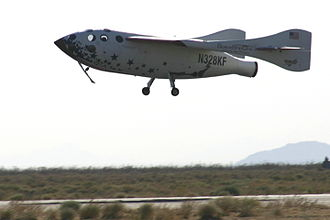 Reusable launch system - Scaled Composites SpaceShipOne used horizontal landing after being launched from a carrier airplane