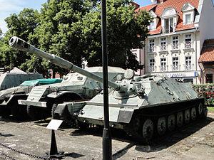 ASU-85 -  ASU-85 at theMuseum of Polish Arms in Kołobrzeg.