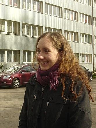 Long hair - A Polish woman with armpit length hair