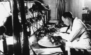 Konstantin Märska - Konstantin Märska at the Estonian Culture Film in 1936