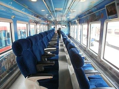Korail seaside train inside 1st.JPG