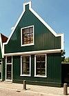 foto van Houten huis met puntgevel