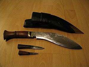 Nepalese Army - Khukuri symbolic weapon of the Nepalese Army
