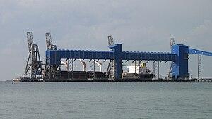 CBH Group - CBH's Kwinana grain loading terminal in November 2009