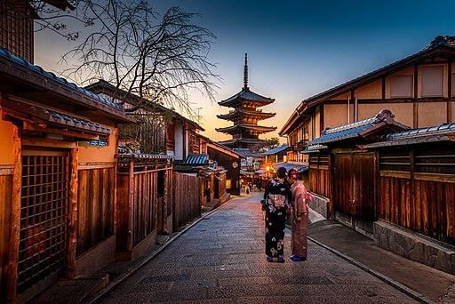Kyoto, Japan (Unsplash UIN-pFfJ7c)