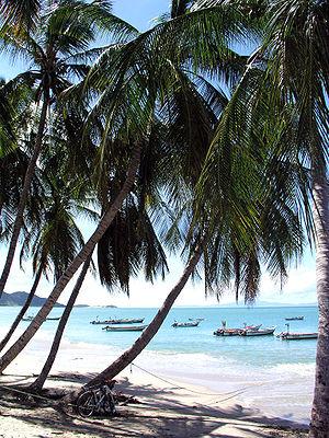 Cocoteros Beach, Margarita island