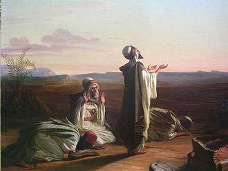 Louis-Anselme Longa - Prayer in the Orient