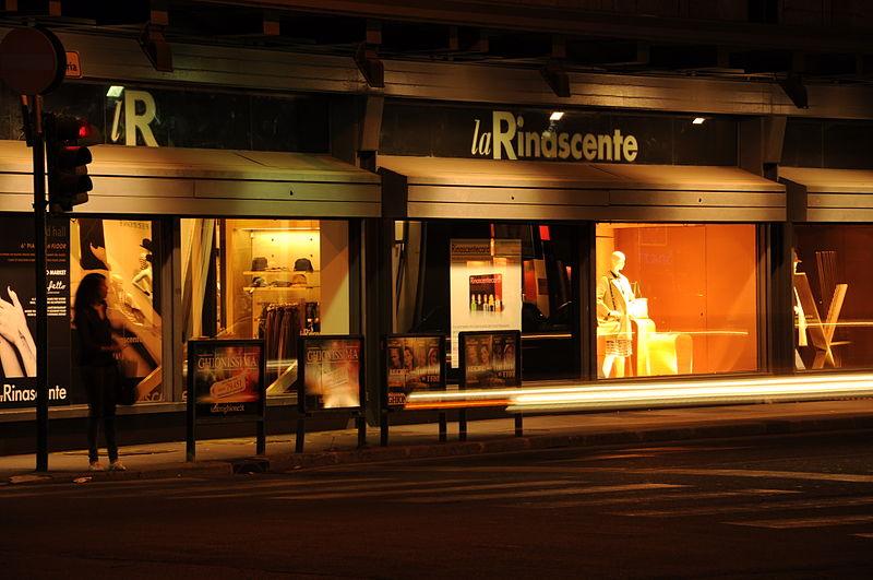 Compras em Milão, Itália