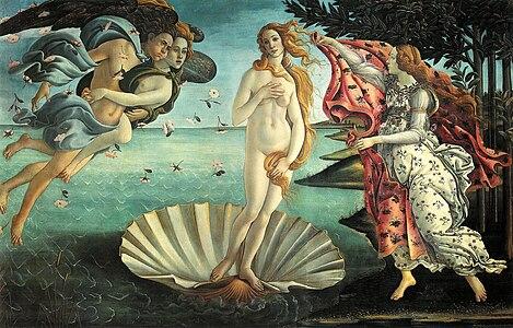 The Birth of Venus.