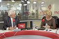 La presidenta de PP de Madrid, Esperanza Aguirre, durante su entrevista en Radio Nacional.jpg