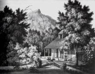 "Lady Anne Barnard - An example of a drawing, of ""Paradise"", her South African residence"
