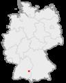 Lage der Stadt Neu-Ulm in Deutschland.png