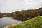 Lago Strahl, Parque Estatal Brown County, Indiana, Estados Unidos, 2012-10-14, DD 03.jpg