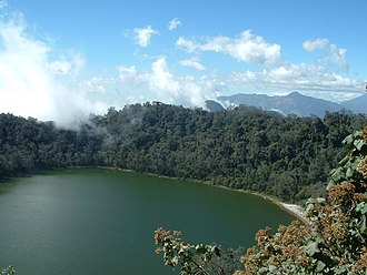 Chicabal - Chicabal crater lake