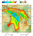 Lake Huron bathymetry map 2.png