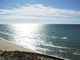 Lake Michigan from Big Sable Point lighthouse.jpg