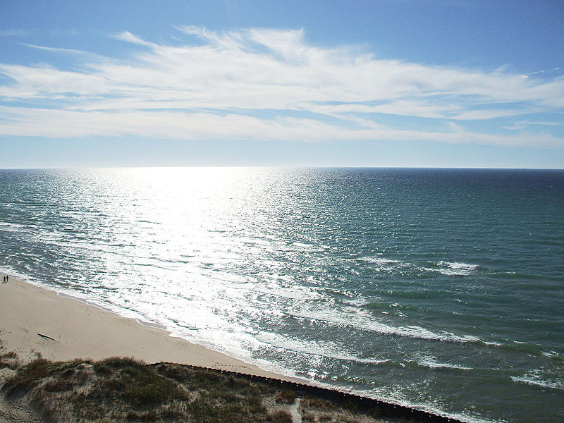File:Lake Michigan from Big Sable Point lighthouse.jpg