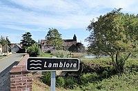 Lamblore rivière village église Saint-Martin Eure-et-Loir France.jpg