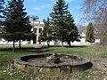 Lančiūnava, dvaro fontanas.JPG